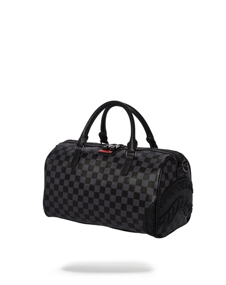 Sprayground Henny Mini Travel Duffle Black Checkered