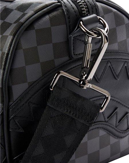 Sprayground Henny Mini Travel Duffle Black Checkered