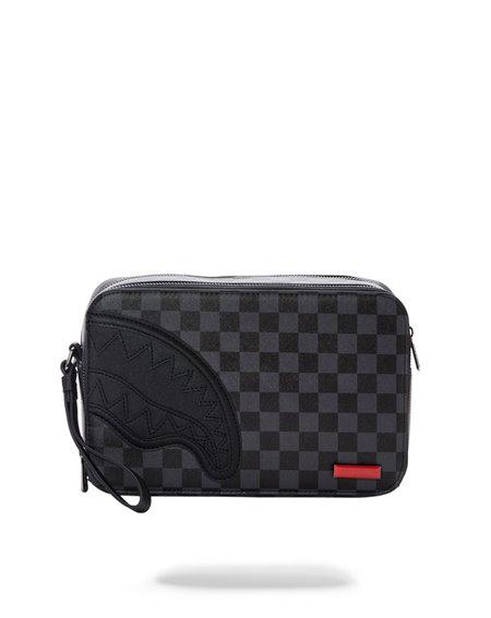 Sprayground Henny Toiletry Bag Black Checkered