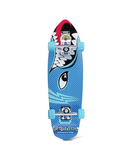 "Smoothstar Barracuda 30"" Surfskate Blue"