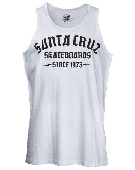 Santa Cruz Herren Tanktop Gothica White
