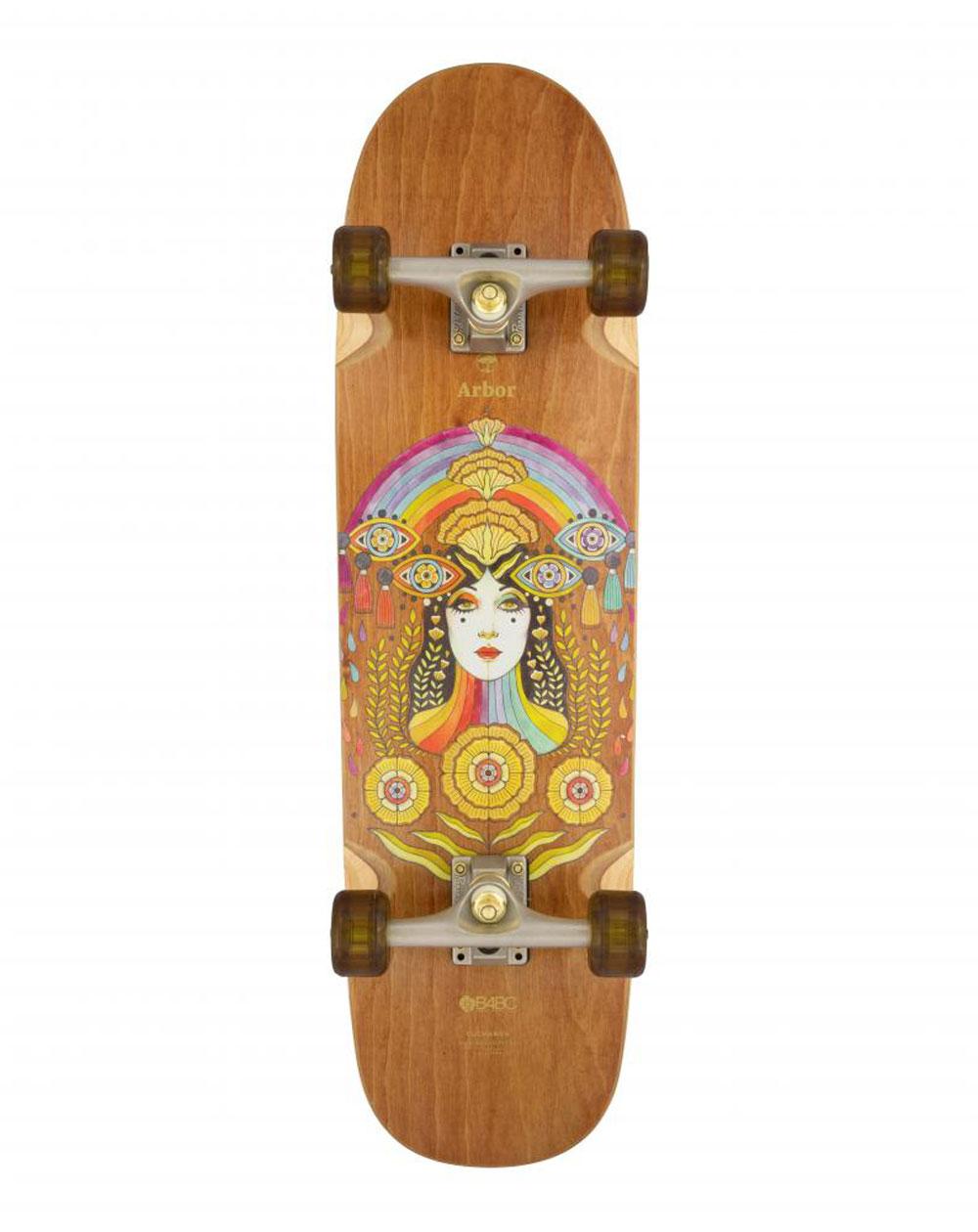 "Arbor Solstice Cucharon 32.375"" Skateboard Cruiser"