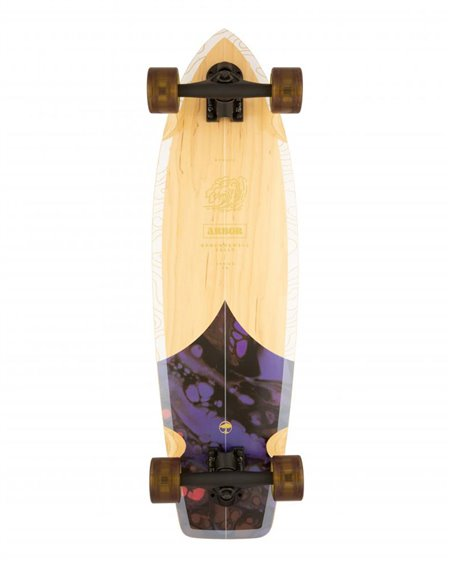 "Arbor Groundswell Rally 30.5"" Skateboard Cruiser"
