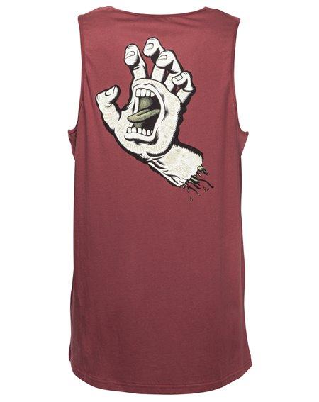 Santa Cruz Men's Vest Tattoo Hand Blood