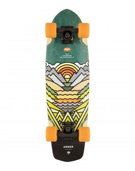 """Arbor Artist Pocket Rocket 27"""" Skateboard Cruiser"""