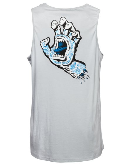 Santa Cruz Men's Vest Tattoo Hand Asphalt