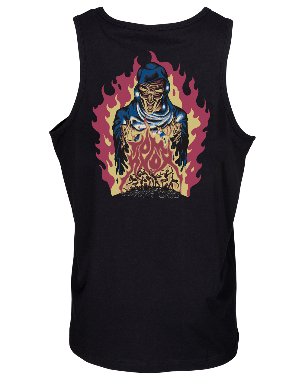 Santa Cruz Men's Vest Knox Firepit Black