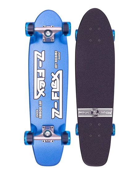 "Z-Flex Skateboard Cruiser Metal Flake 29.5"" Blue"