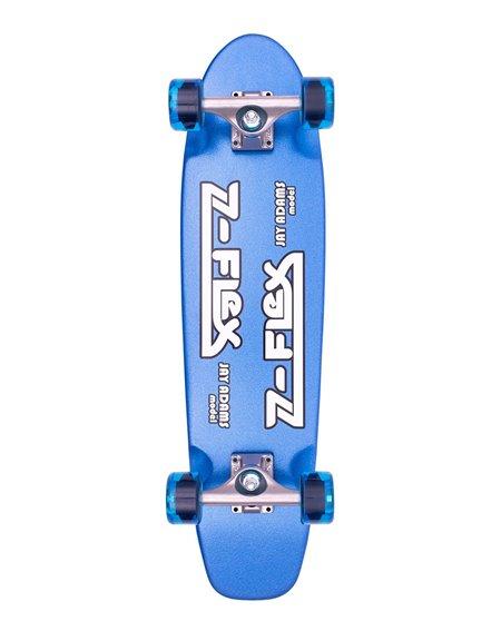 "Z-Flex Skateboard Cruiser Metal Flake 29.5"" Blue"