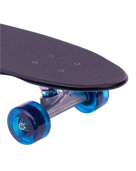 "Z-Flex Metal Flake 29.5"" Skateboard Cruiser Blue"