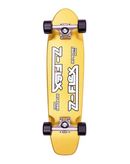 "Z-Flex Skateboard Cruiser Metal Flake 29.5"" Gold"