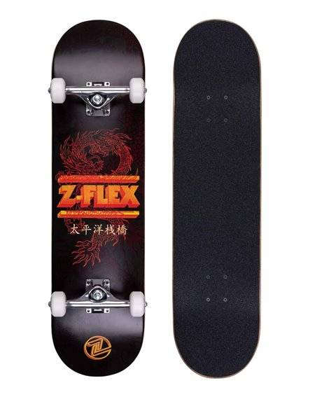 "Z-Flex Skateboard Dragon 8.25"" Black"
