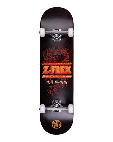 """Z-Flex Dragon 8.25"""" Complete Skateboard Black"""