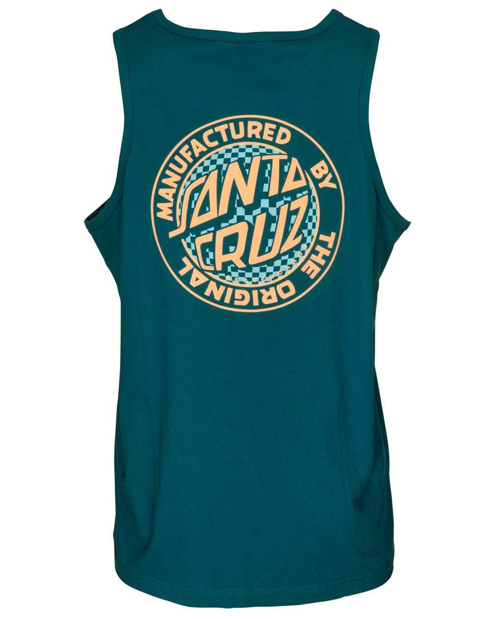 Santa Cruz Men's Vest Fisheye MFG Dot Ink Blue