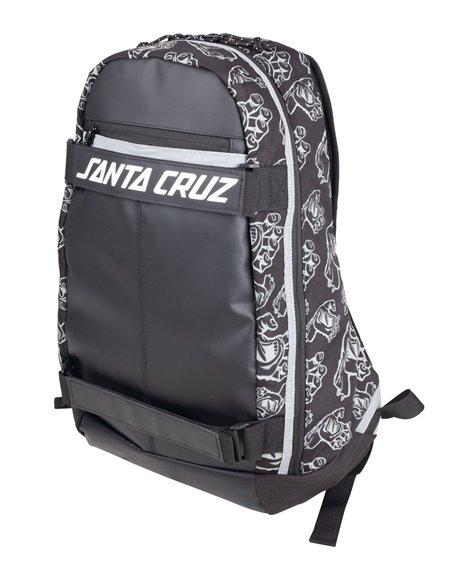 Santa Cruz Zaino Porta Skateboard Dispatch Black