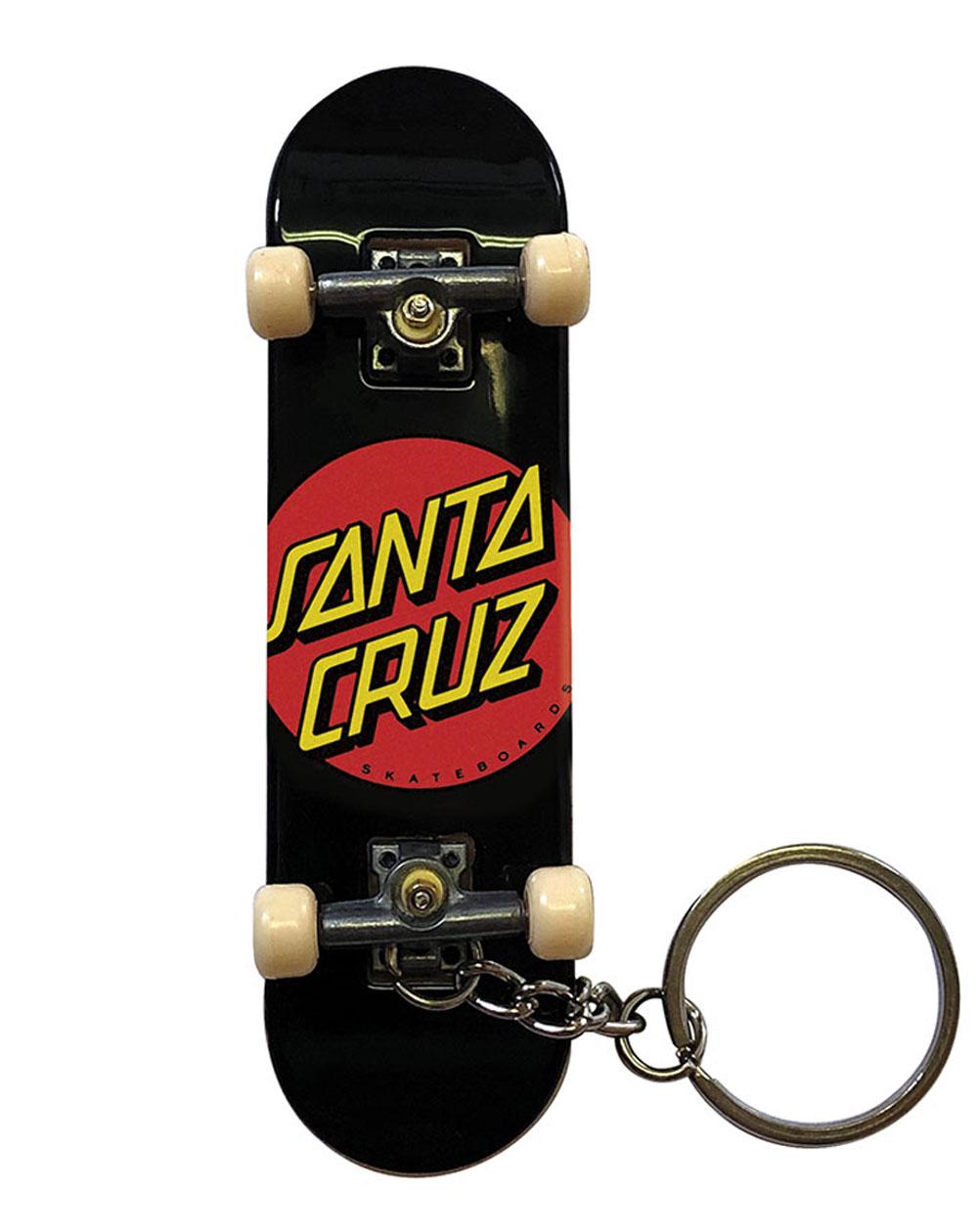 Santa Cruz Chaveiro Classic Dot Fingerboard Black