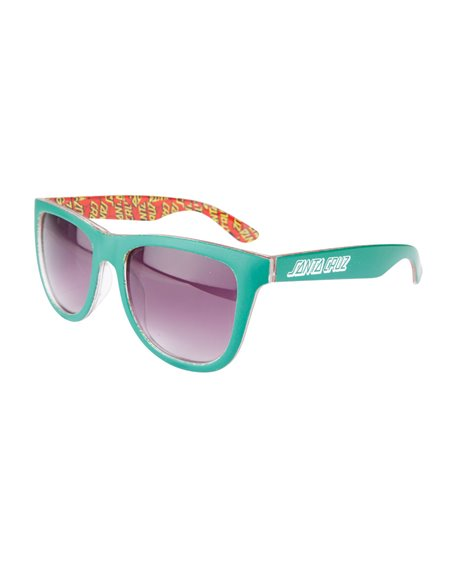 Santa Cruz Men's Sunglasses Multi Classic Dot Evergreen