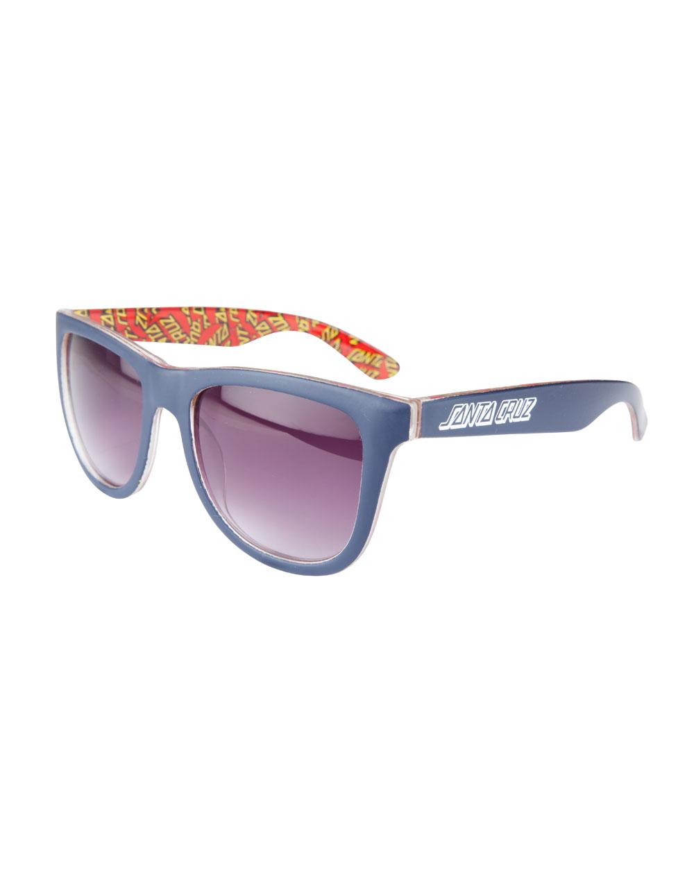 Santa Cruz Men's Sunglasses Multi Classic Dot Dark Navy