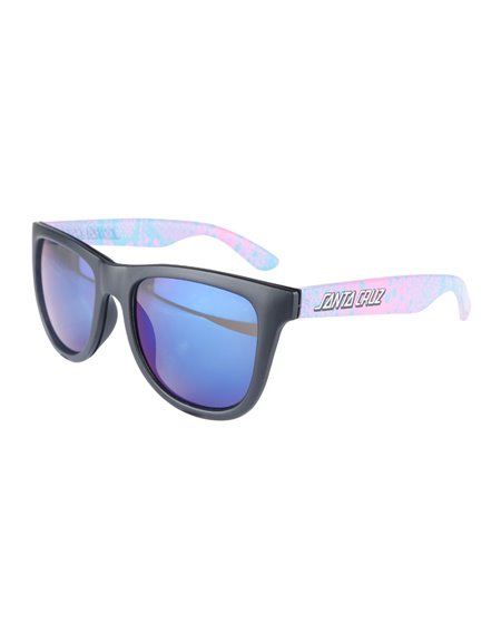 Santa Cruz Men's Sunglasses Snake Strip Black