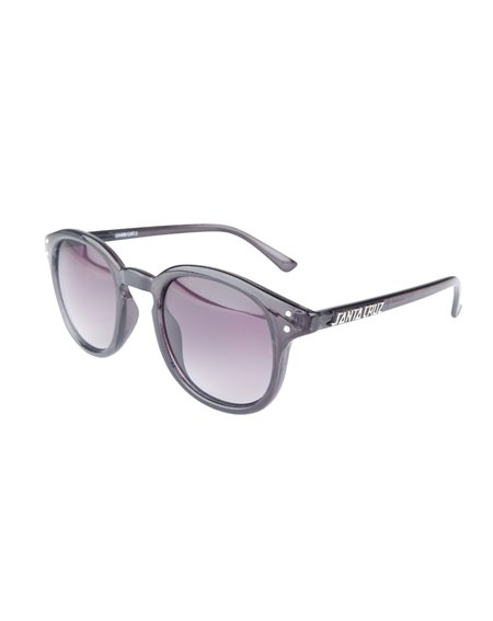 Santa Cruz Men's Sunglasses Watson Clear Black