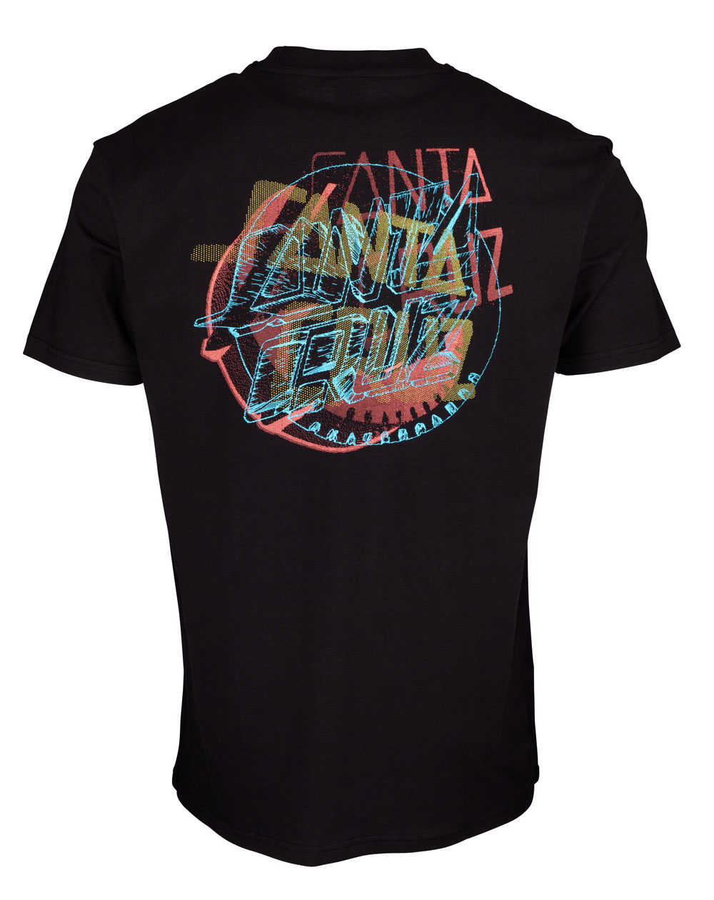 Santa Cruz No Pattern Dot Camiseta para Hombre Black