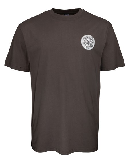Santa Cruz Men's T-Shirt Muerte Screaming Hand Washed Black