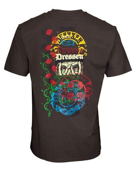Santa Cruz Dressen Archive Camiseta para Homem Washed Black
