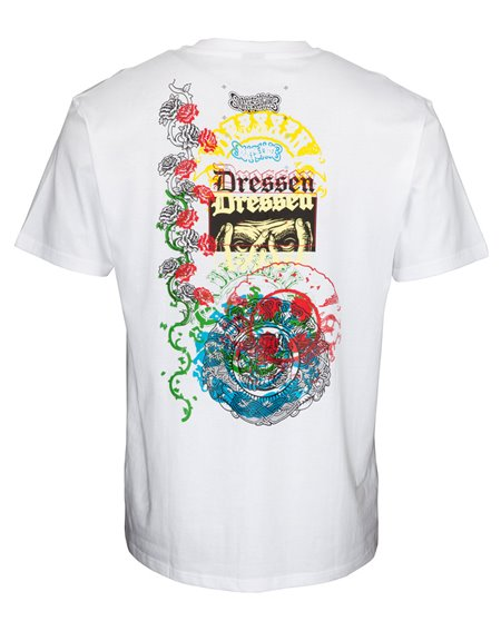 Santa Cruz Dressen Archive Camiseta para Hombre White