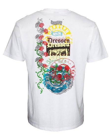 Santa Cruz Herren T-Shirt Dressen Archive White