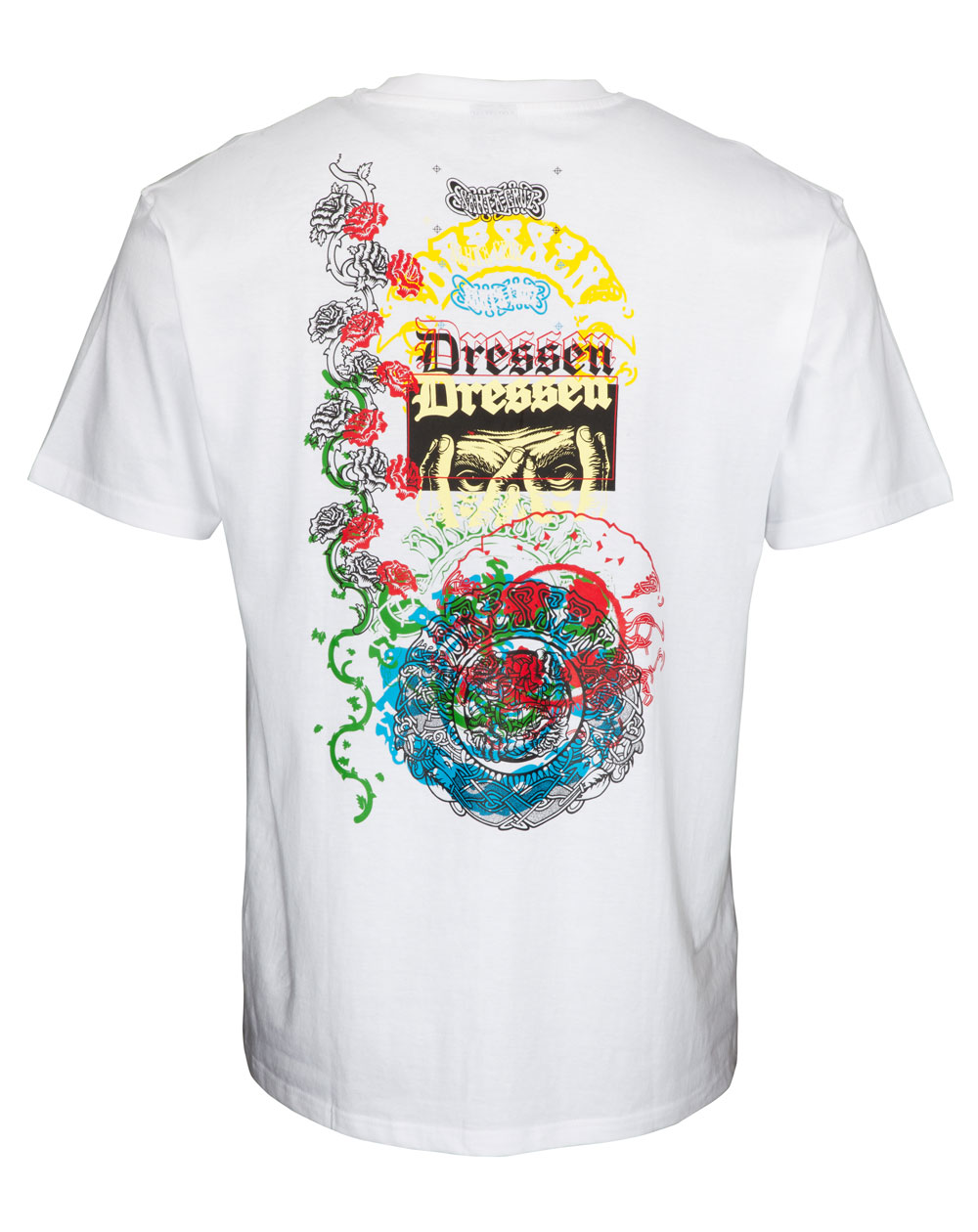 Santa Cruz Dressen Archive T-Shirt Uomo White