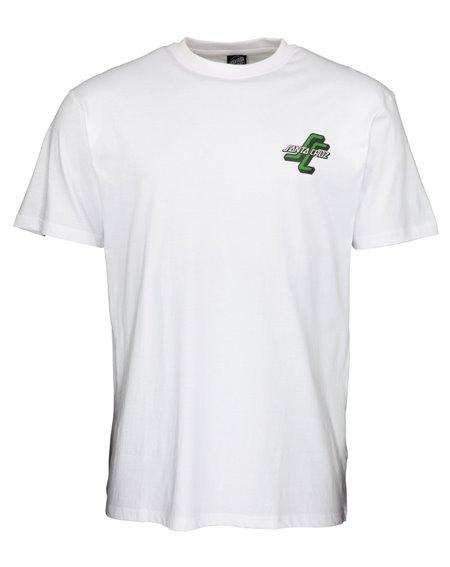 Santa Cruz Men's T-Shirt Dressen Archive White