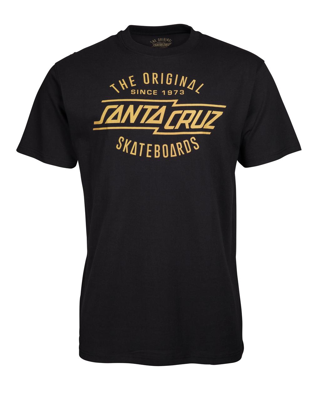 Santa Cruz Original T-Shirt Uomo Black