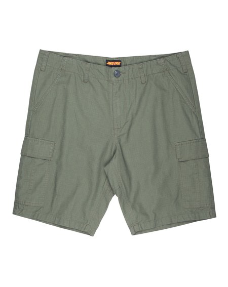Santa Cruz Herren Shorts Defeat Workshort Military Green