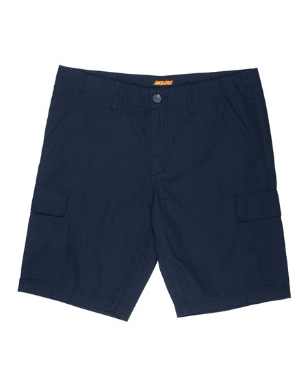 Santa Cruz Herren Shorts Defeat Workshort Dark Navy