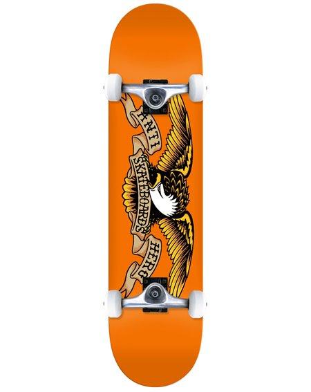 "Anti Hero Classic Eagle 7.75"" Complete Skateboard Orange"