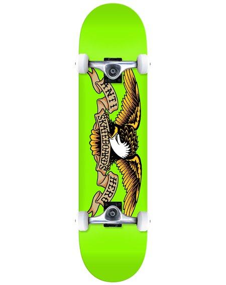 "Anti Hero Skateboard Completo Classic Eagle 8"" Green"