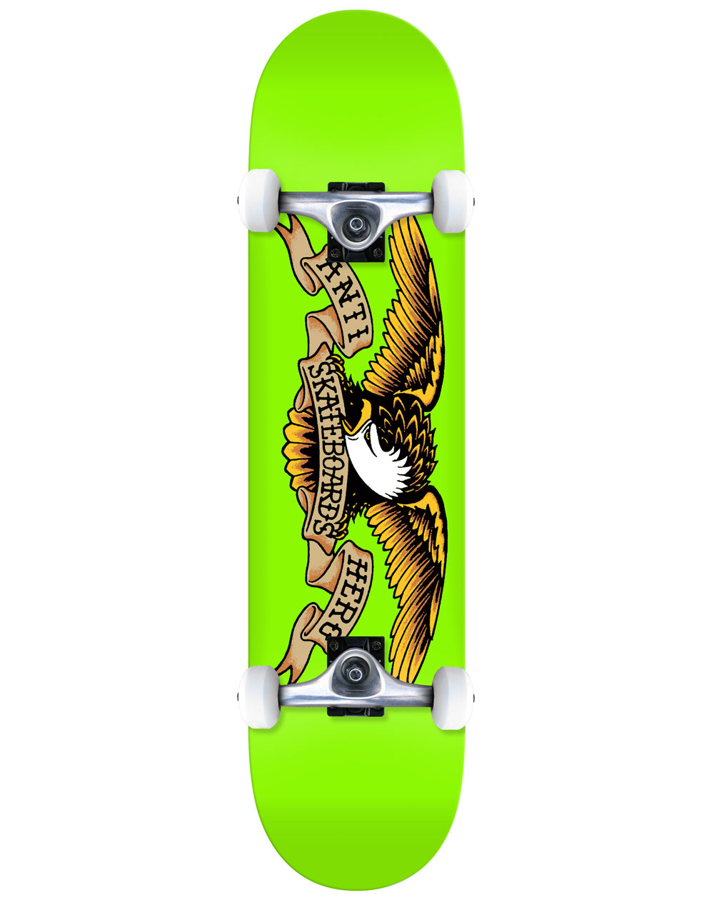 "Anti Hero Classic Eagle 8"" Complete Skateboard Green"