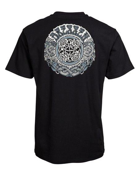 Santa Cruz Dressen Black Roses T-Shirt Homme Black