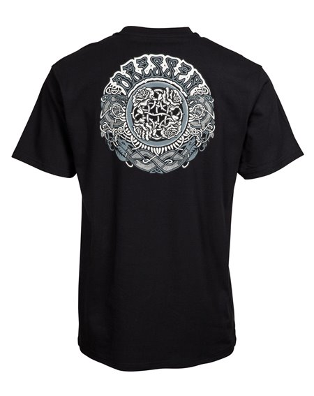 Santa Cruz Men's T-Shirt Dressen Black Roses Black