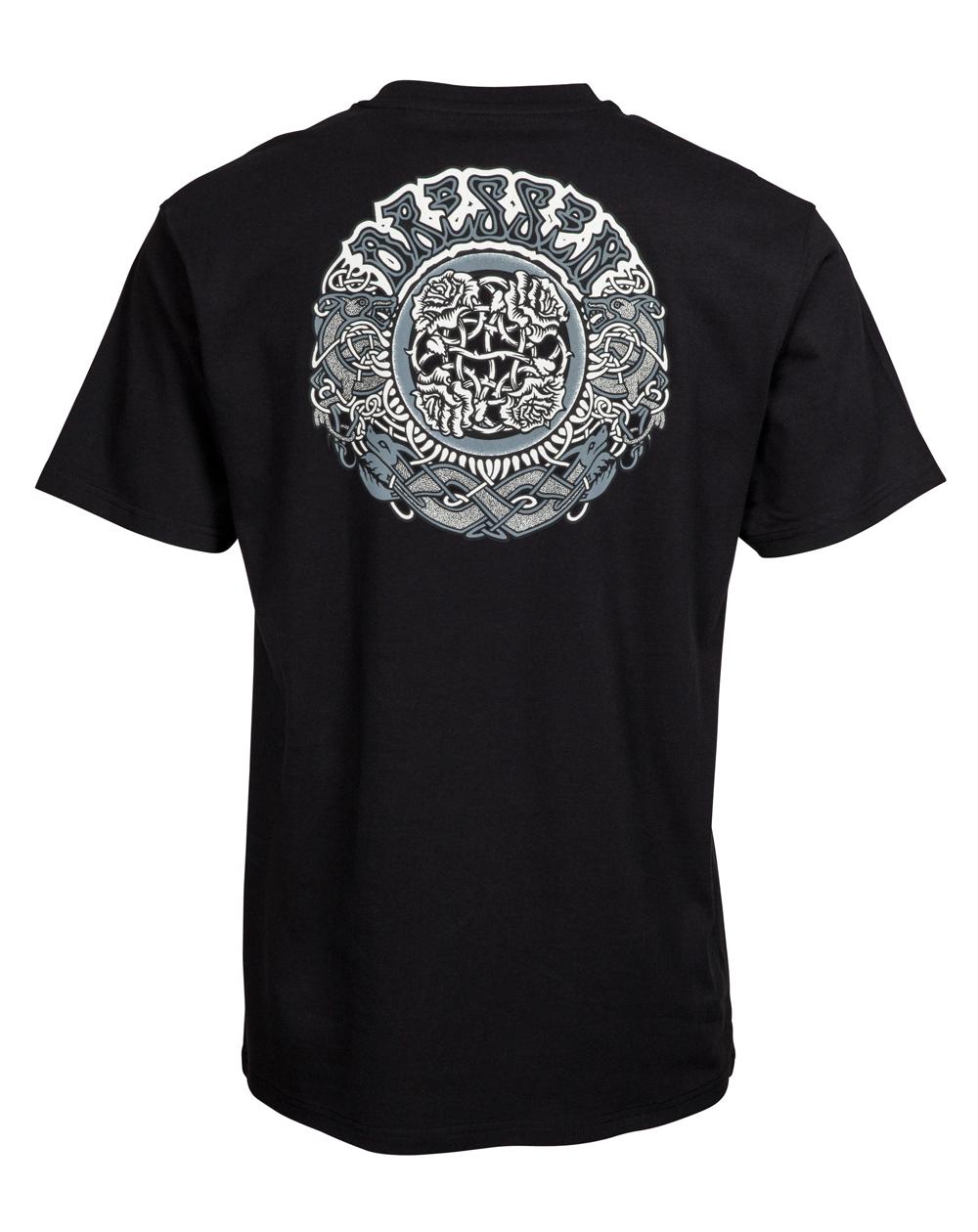 Santa Cruz Herren T-Shirt Dressen Black Roses Black