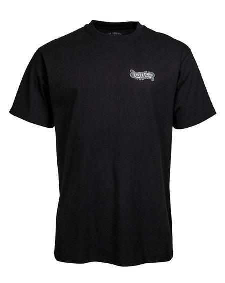 Santa Cruz Men's T-Shirt Dressen Black Roses Black