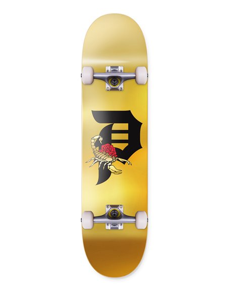 "Primitive Skateboard Dirty P Scorpion 7.75"""
