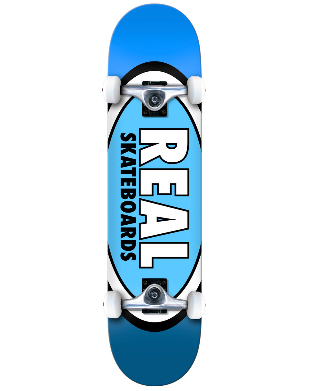 """Real Team Edition Ovals 8"""" Complete Skateboard"""