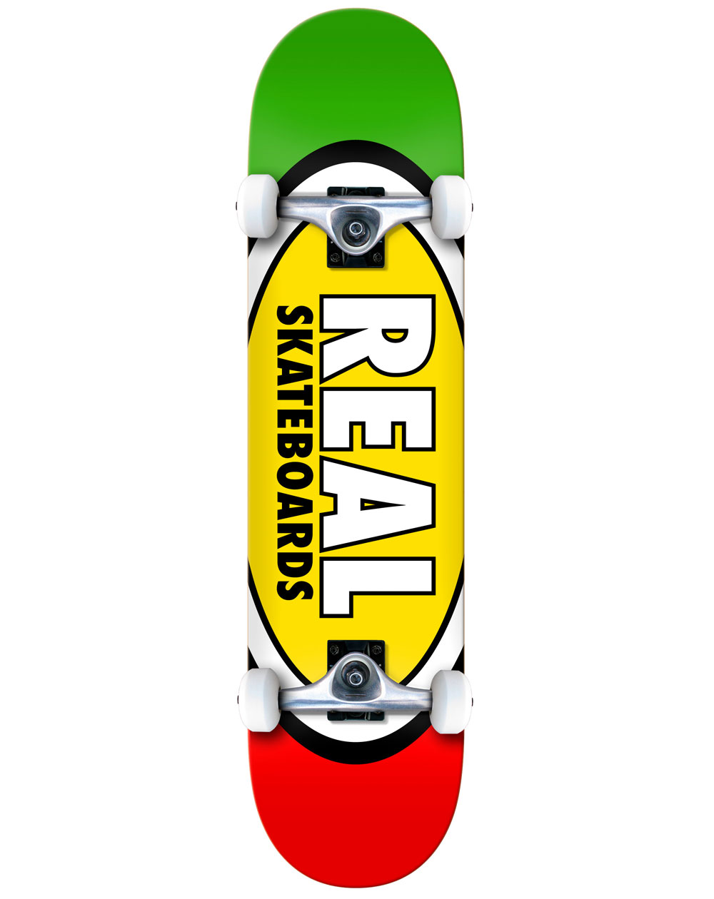 """Real Team Edition Ovals 8.25"""" Complete Skateboard"""