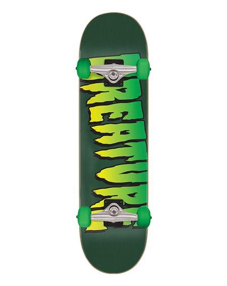"""Creature Skate Montado Logo Full 8"""""""