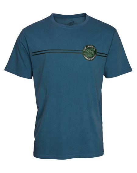 Santa Cruz Men's T-Shirt Cali Dot Teal