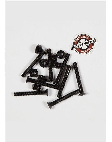 """Independent Set Viti e Bulloni Skate Genuine Parts 1.50"""" Phillips Black"""