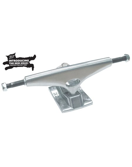 "Krux Trucks Skate K5 Standard 7.60"" Polished Silver 2 peças"