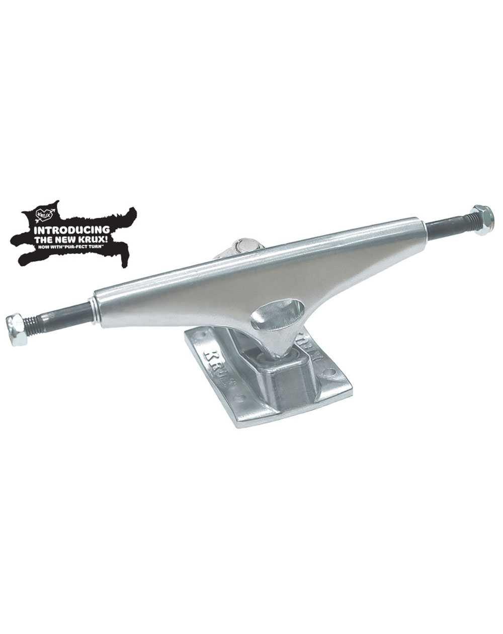"""Krux K5 Standard 7.60"""" Skateboard Trucks Polished Silver pack of 2"""