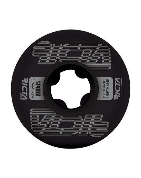 Ricta Rodas Skate Framework Sparx 53mm 99A Black 4 peças